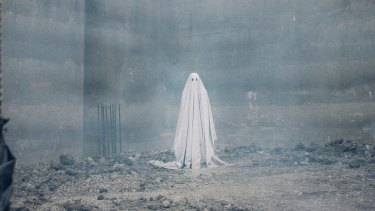 Under a sheet: Casey Affleck in <i>A Ghost Story</i>.