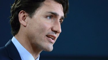 Canada's Prime Minister Justin Trudeau said his country would welcome those fleeing war and persecution.