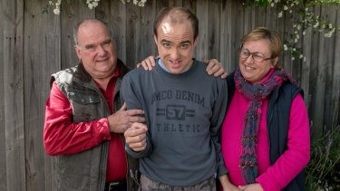 Andrew Johnson has been in state care since 1999 due to his severe mental disabilities. Centrelink asked his parents, David and Deb Johnson to proved evidence that the 30-year-old was entitled to the disability pension.