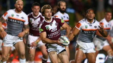 Man of honour: Kieran Foran is locked in and heading to Parramatta in 2016.
