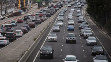 Tolls will be reintroduced on Sydney's M4 motorway.
