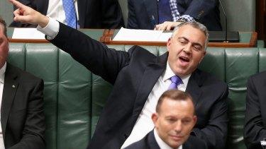 Treasurer Joe Hockey has failed to echo Prime Minister Tony Abbott's comments on superannuation.