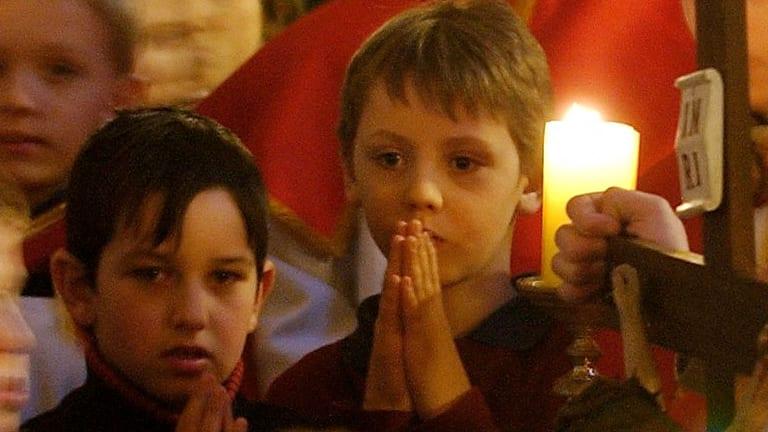 Meditation and prayers for children.