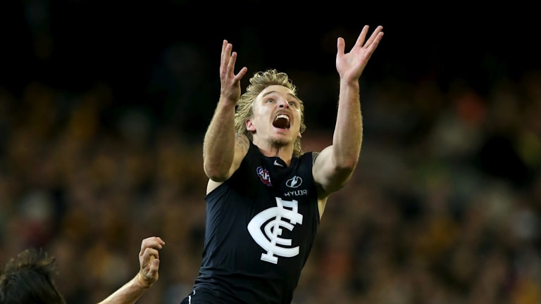 Dennis Armfield has been a fan favourite at Carlton.