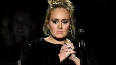 Adele has spoken about her experience of post-natal depression.