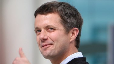 Crown Prince Frederik of Denmark is heading Down Under to indulge his love fo sailing and compete in the Race Week regatta.