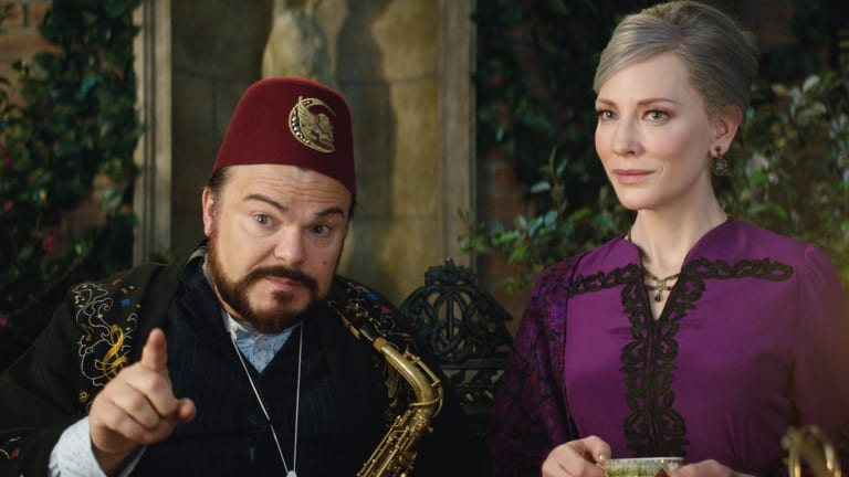 Jack Black jokes that he has told his agent that he only wants to appear opposite Cate Blanchett from now on.