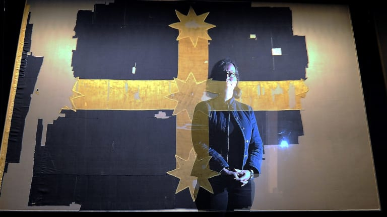 The Eureka flag is a great design. It has history and meaning.