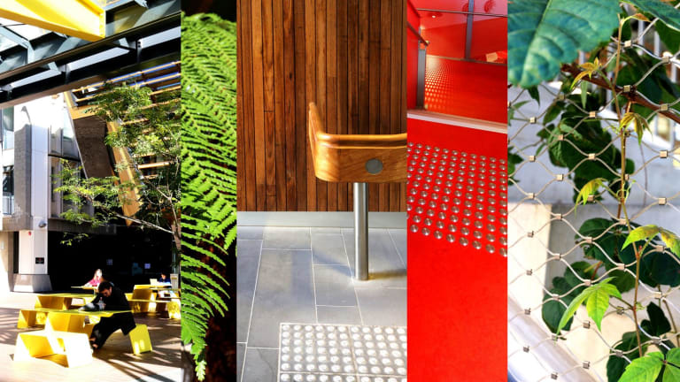 The Sensory City tour of RMIT's New Academic Street is part of this year's Open House Melbourne.