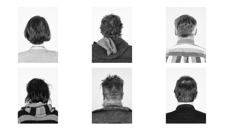 Geoffrey Dunn, Provenance Headbacks, 2017 in Provenance at Photoaccess.