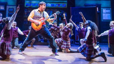 School of Rock will open in Melbourne in 2018.