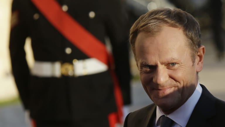 President of the European Council Donald Tusk.