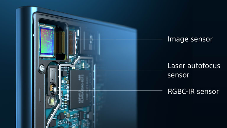 Sony has made much of its triple-sensor camera setup.