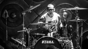 Jerinx, drummer in the Balinese punk band Superman is Dead, was scheduled to appear at a cancelled event discussing Bali's Benoa Bay development.