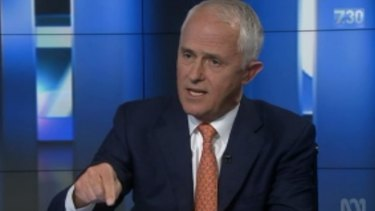 Malcolm Turnbull reveals he donated $1.75 million to the Liberal Party's election campaign.