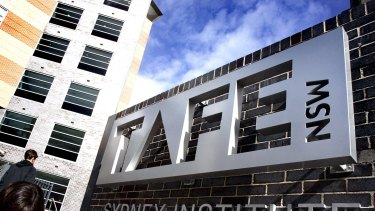 Taxpayers spent $10,500 per graduate in TAFE courses in 2014.