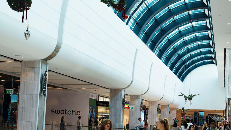 AMP Capital's Macquarie Centre shopping mall will be part of a bigger mixed use site in coming years.
