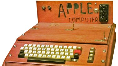 An Apple I computer held by the US Smithsonian Institution. Was it all so simple then, or has time rewritten every line (of code)?