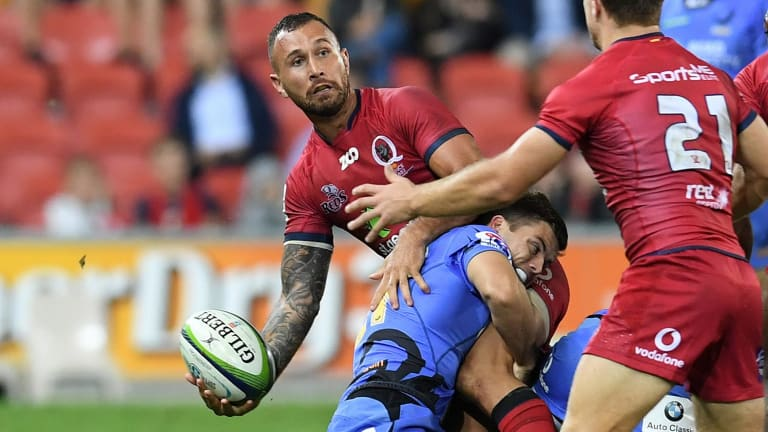 On the outer: Quade Cooper.