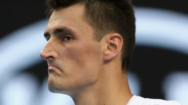 All in a day's work: Tomic said he wouldn't have pursued tennis had his time over.