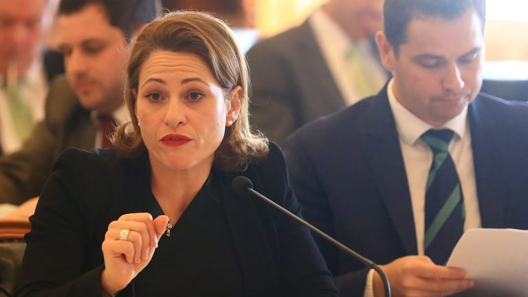 Deputy Premier Jackie Trad says she hopes she does not have to work with a bigoted Donald Trump.