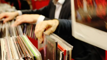 Vinyl sales also nearly doubled over the year.