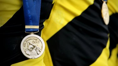 A Richmond premiership medal.