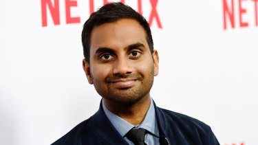 Accused of sexual misconduct: Aziz Ansari.