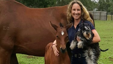 Irish vet Louise Kennedy with two degrees can't persuade a robot that she can speak English.