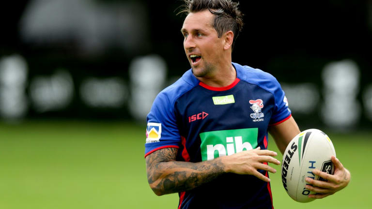 Wise head: Mitchell Pearce.