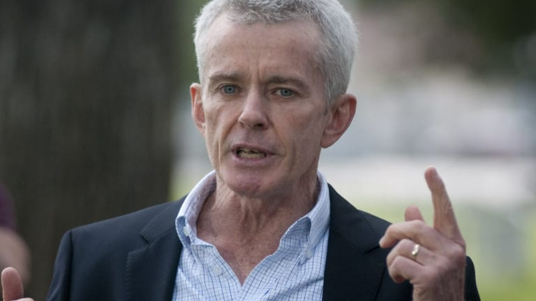Former coal miner and now One Nation senator Malcolm Roberts says NASA data on climate change is 'corrupted'.