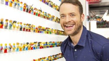 Hamish Blake hosts Lego Masters.