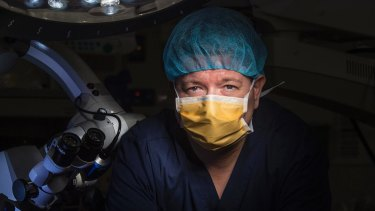"""""""Dr P"""", an American surgeon, says he was bullied, harassed and discriminated against as he tried to have his skills recognised in Australia."""