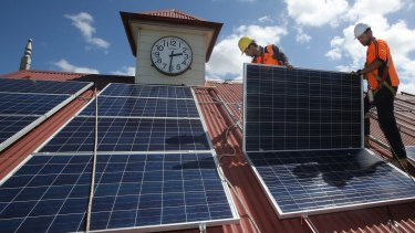 The times increasingly favour solar panels - and soon batteries, a survey finds.