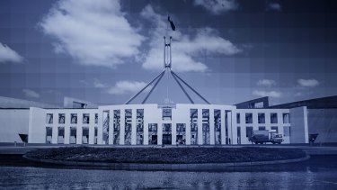 The federal Treasurer has declared the budget back in the black and back on track.