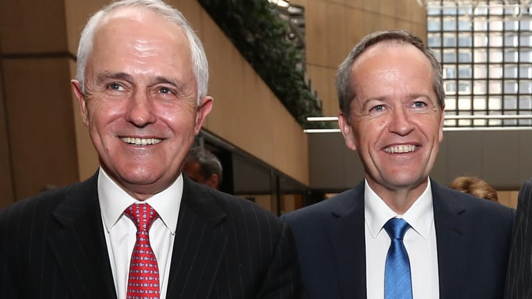 Malcolm Turnbull and Bill Shorten.