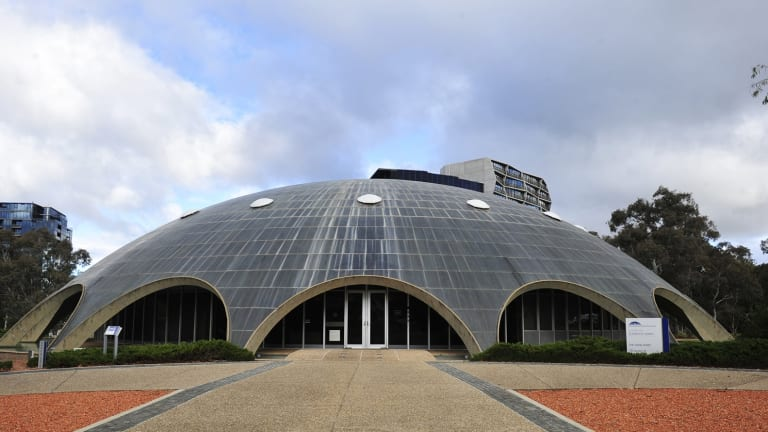The Shine Dome, housing the Basser Library and Fenner Archives. The closure has upset scientists.