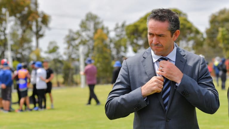 Former AFL executive Simon Lethlean faces another series of dilemmas.