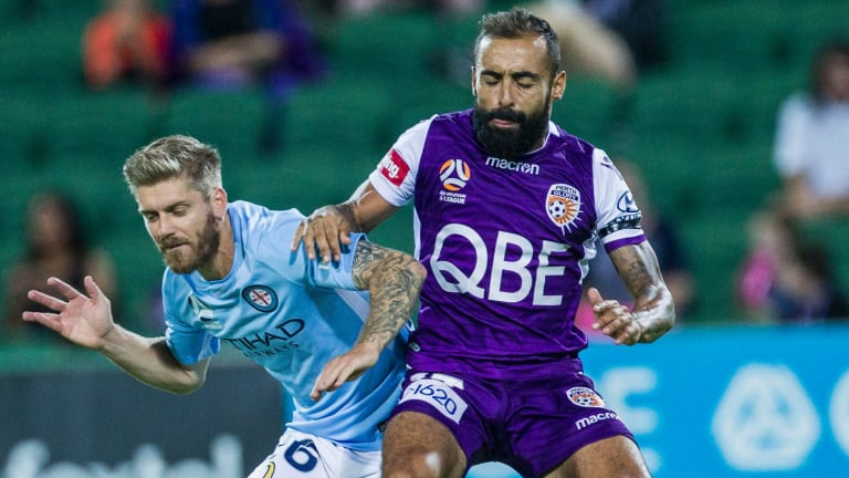 Striker Diego Castro is fighting to be fit for Glory's crucial next game.