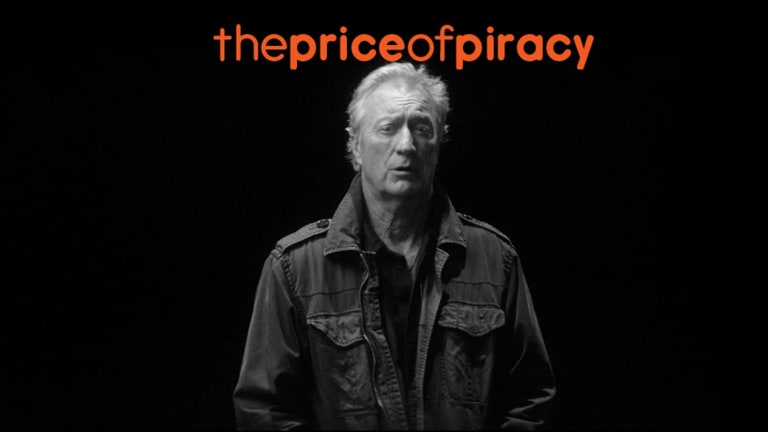 Creative Content Australia's campaign fronted by Australian actor Bryan Brown.