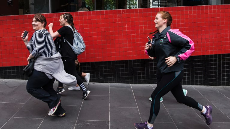 Imelda Walsh and her team were not left behind in the Amazing Race-inspired Urban Quest challenge.