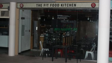 The Fit Food Kitchen in Dubai's Jumeirah Lake Towers (JLT) district where one of the two raids were conducted.