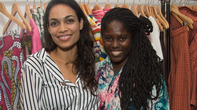 Studio 189's Rosario Dawson and Abrima Erwiah