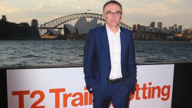 "Director Danny Boyle feels ""relieved"" that <i>T2 Trainspotting</i> has been positively received so far."