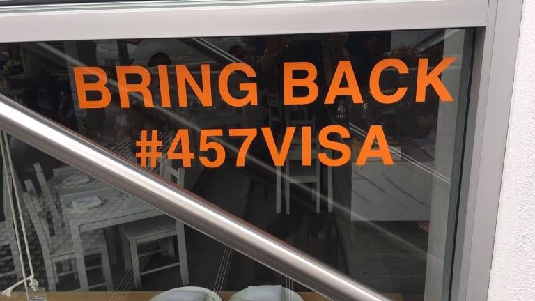 Restaurateurs warn the 457 crackdown will jeopardise the reputation of Australia's dining scene.