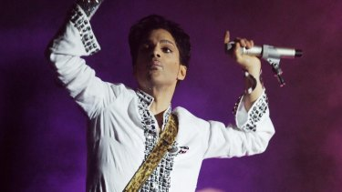 Prince sold more than 100 million records.