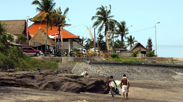 Canggu has grown from a small fishing village to a trendy international surf destination
