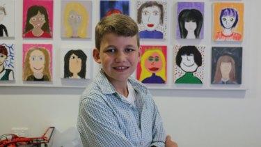 Nicholas Johnson, 14, has severe epilepsy.