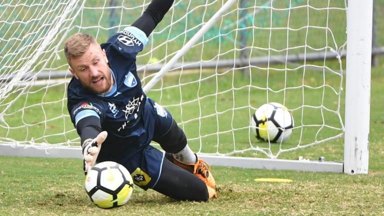 Show stopper: Andrew Redmayne will feature for Sydney FC until 2020.