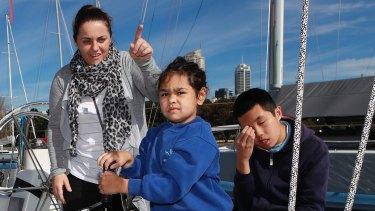 Alintah Peters in Sydney.